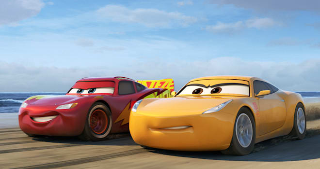 Image result for cars 3 cast