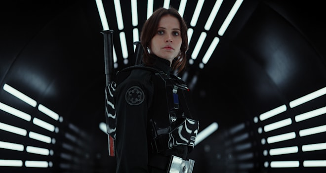 rogue one, a star wars story, jyn erso, felicity jones