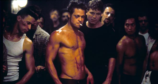 FIGHT CLUB -1999 BRAD PITT