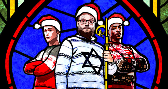 the night before, seth rogen, joseph gordon-levitt, anthony mackie