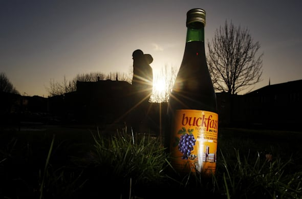 Buckfast wine mentioned in crime reports