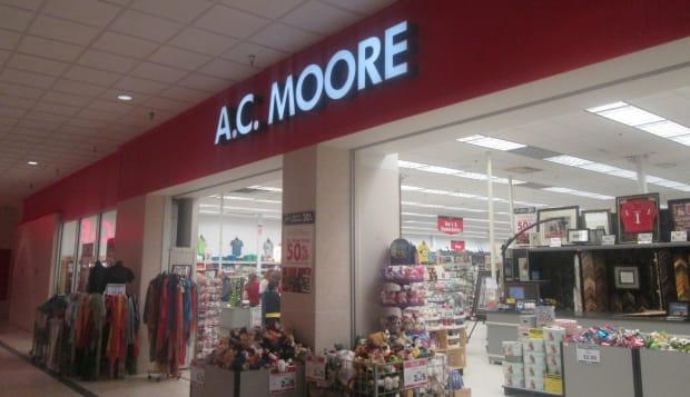 AC Moore Mall Entrance