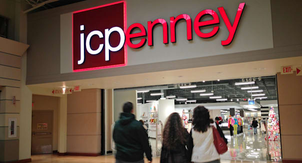 JCP  JCPenney J.C. Penney JC Penney store mall shopping exterior 2013