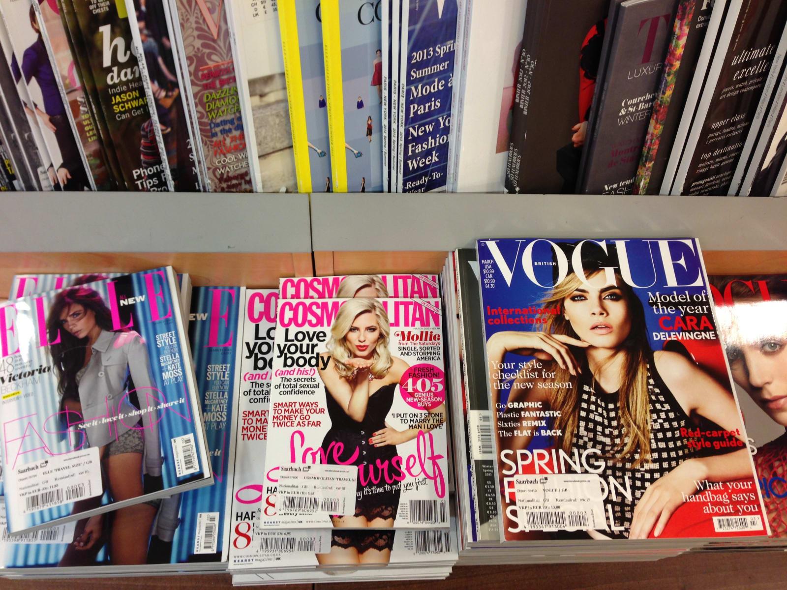 popular british magazines