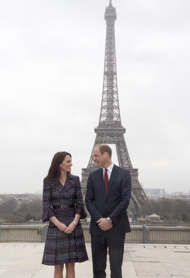 The Duke And Duchess Of Cambridge Visit Paris: Day Two