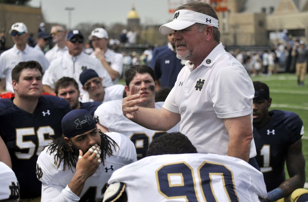 Notre Dame Spring Game Football