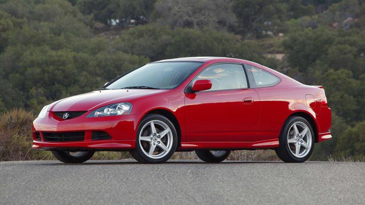 2005 Acura RSX Type-S.