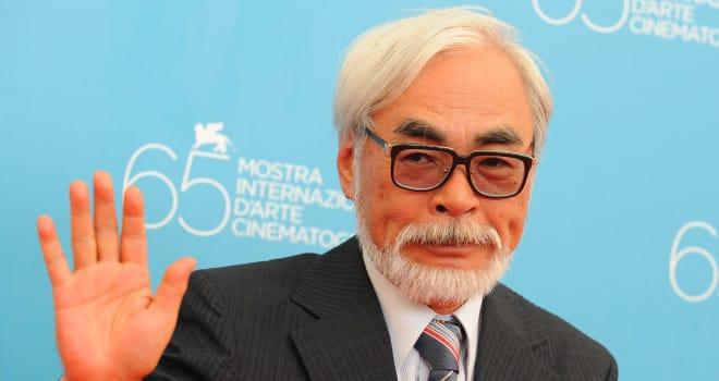 Hayao Miyazaki at the 2008 Venice Film Festival
