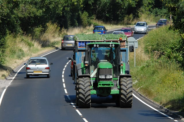 Tractor & Congestion in Worcestershire