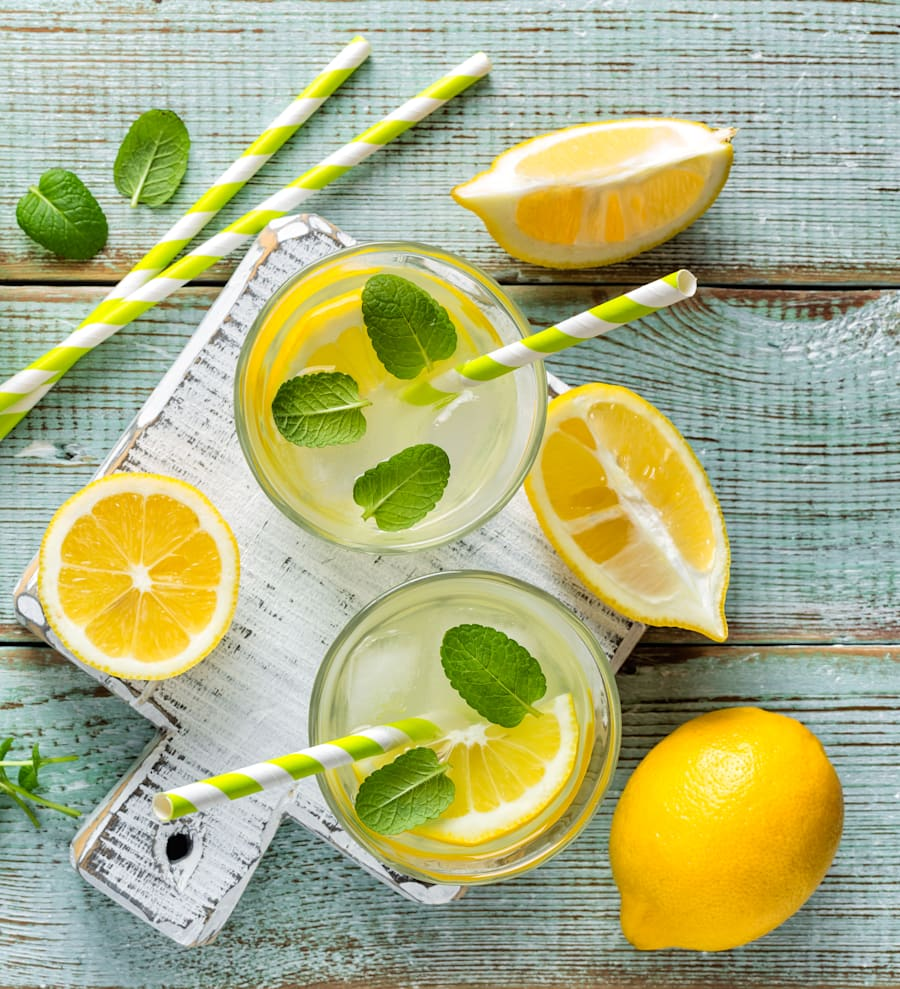 Tip: when out with friends, alternate or replace your drinks with lemon soda -- it looks alcoholic so...