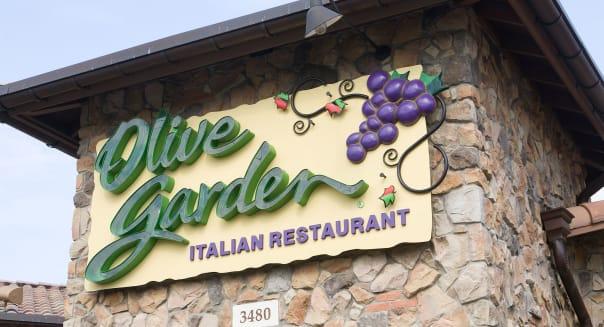 A Olive Garden restaurant.