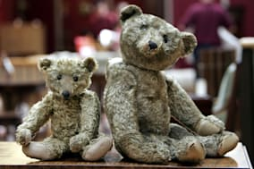 APTOPIX BRITAIN TEDDY BEARS AUCTION