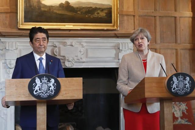 Japanese PM visit to UK