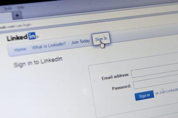 Passwords stolen from LinkedIn