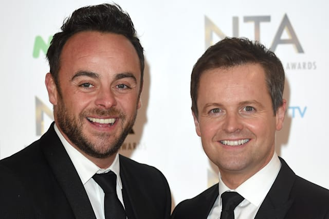 Ant and Dec have six-figure life insurance policy against eachother