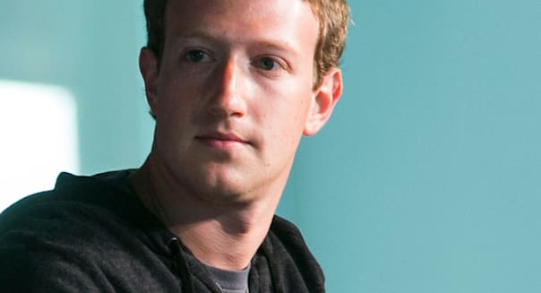 Mark Zuckerberg, co-founder, Chairman and CEO of Facebook.