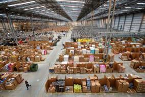Amazon fulfilment centre - Peterborough