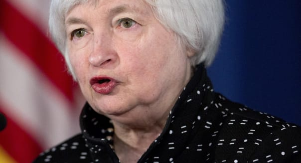 Janet Yellen Speaks At Monetary Policy Implementation Conference