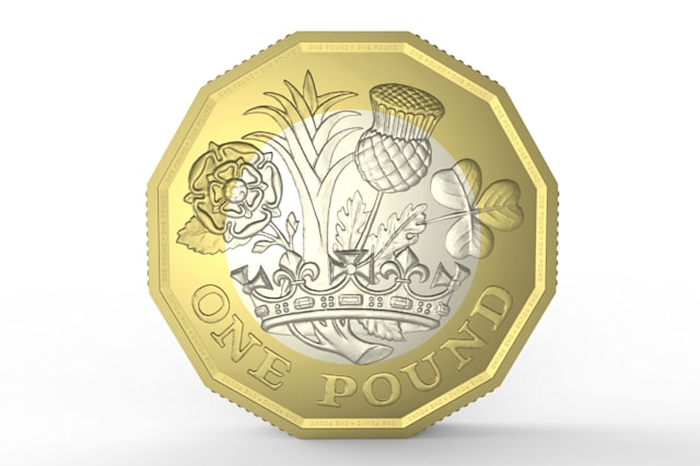 Teenager's design to grace £1 coin