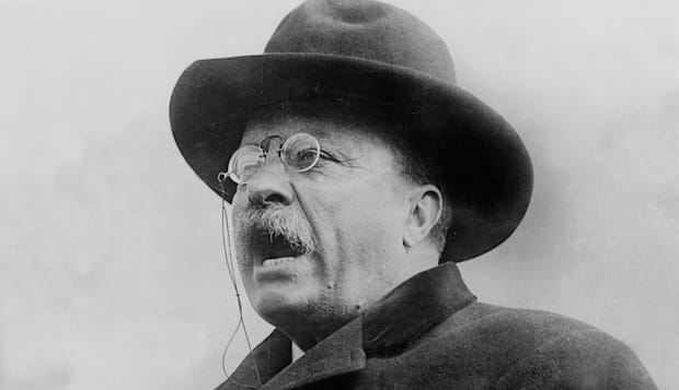Theodore Roosevelt (1858-1919) 26th american president from 1901 to 1909