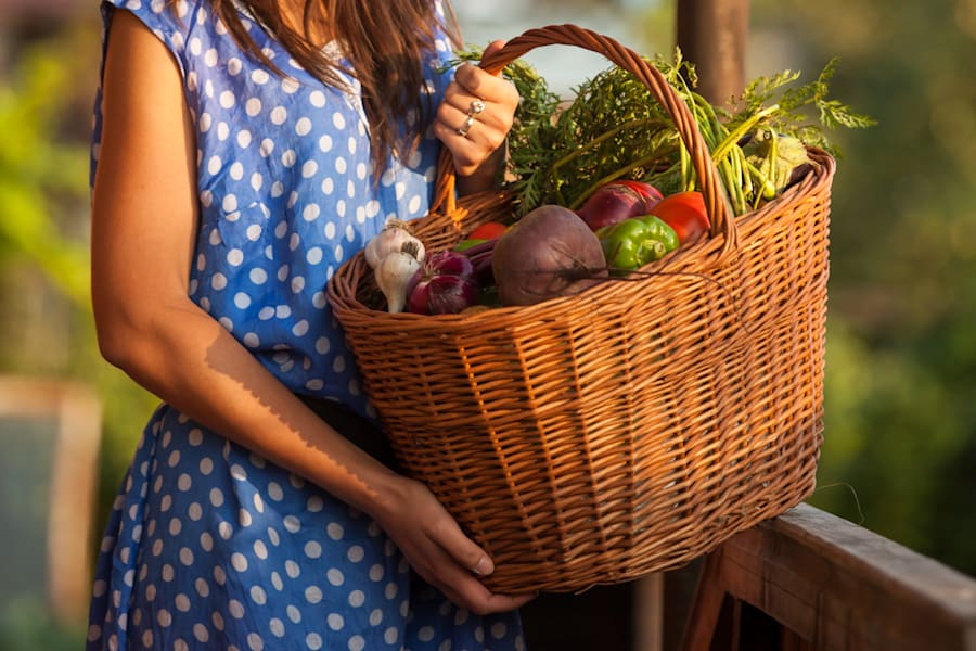 Head to your local farmers' market and pick some seasonal