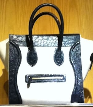 Celine face purse