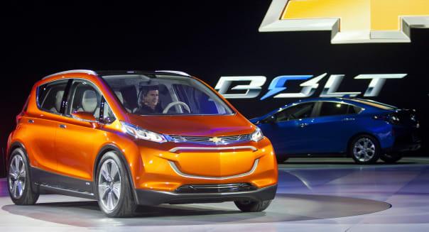 Auto Show General Motors