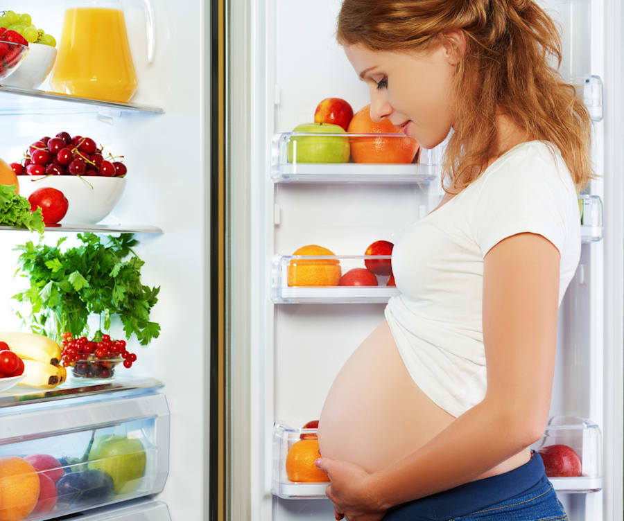Folate is super important for mums growing