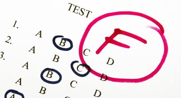 test results in school ...