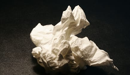 Crumpled Tissue