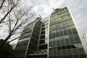 File photo dated 16/02/09 of the offices of the Lloyds Banking Group which has been fined ?28 million for