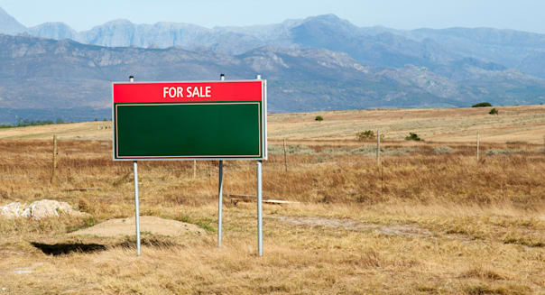 Land for sale in the Western cape area of South Africa