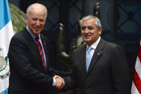 GUATEMALA-USA-PEREZ MOLINA-BIDEN