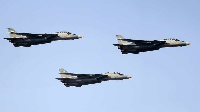Iran's F-14 fighter jets