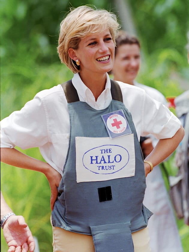 Diana, Princess of Wales supports The HALO Trust