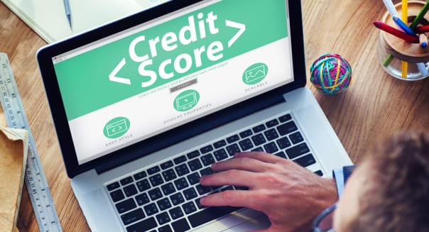 digital online credit score...