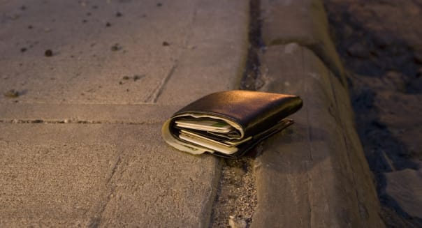 Lost Wallet on an Empty Street