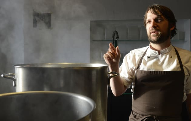El chef René Redzepi, creador del famoso restaurante