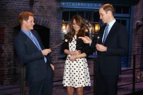 Royal visit to Warner Bros Studios