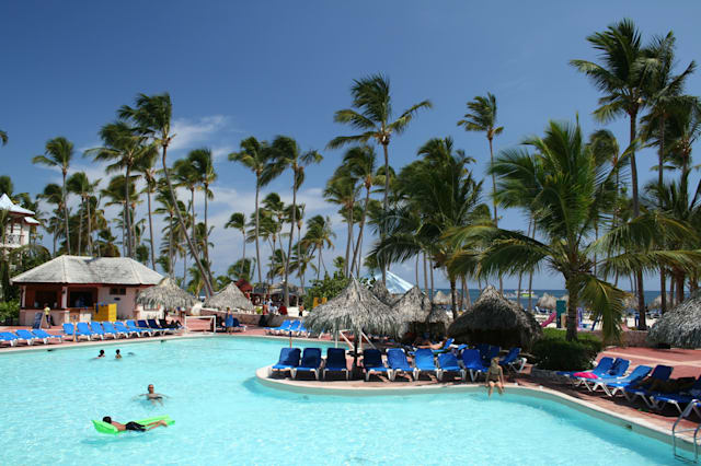 Tropical beachfront all-inclusive resort