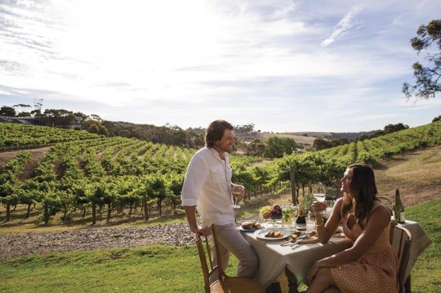 Australian wine farm