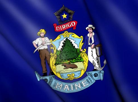 Flag of Maine (USA)