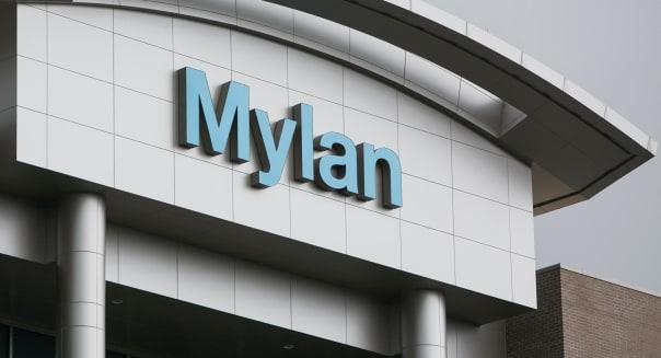 The headquarters of Mylan Laboratories Inc., in Canonsburg, Pennsylvania.