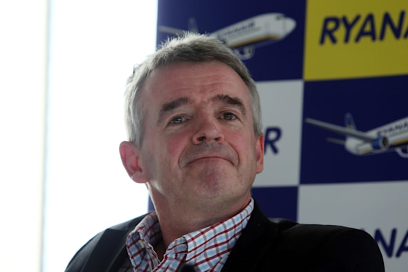Ryanair's Michael O'Leary jokes about making love to the queen
