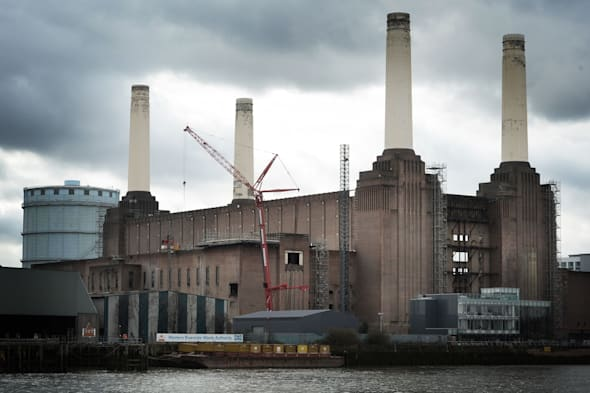Battersea Power Station as flats being built at the landmark site close to the River Thames in London will go on sale in May. PRESS ASSOCIATION Photo. Picture date: Wednesday February 19, 2014. See PA story INDUSTRY Battersea. Photo credit should read: Stefan Rousseau/PA Wire