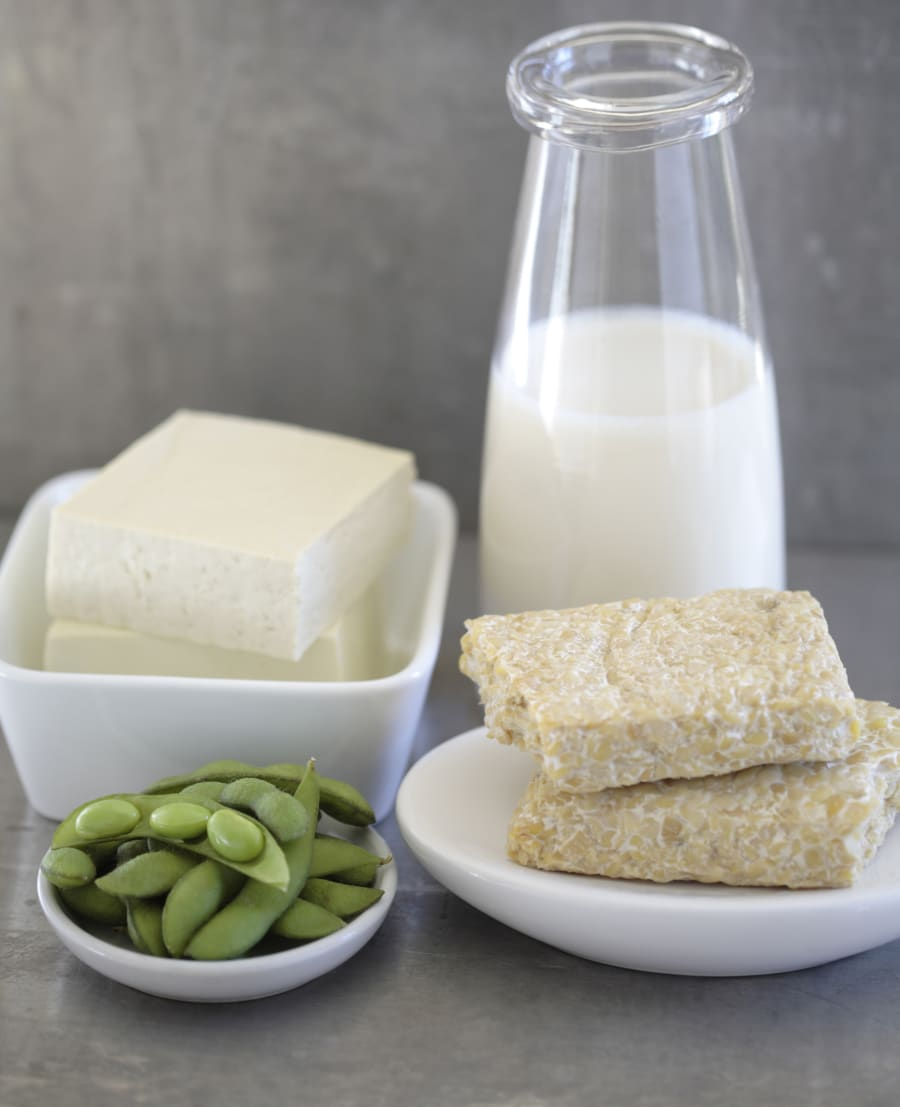Opt for B12 fortified tofu, cereals and plant-based