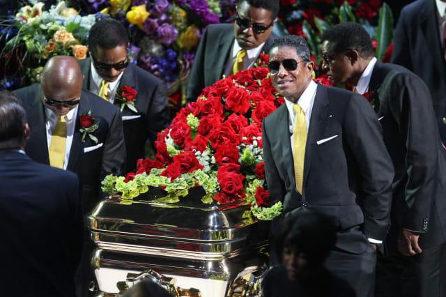 Michael Jackson's $1 million funeral