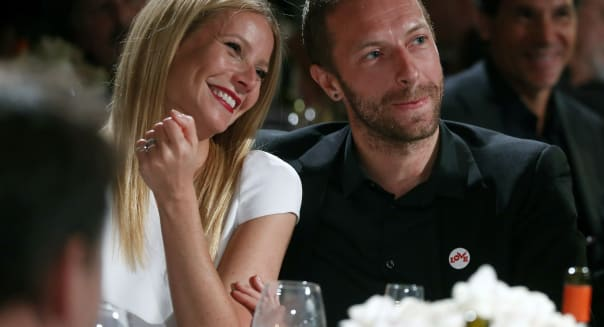 People Gwyneth Paltrow Chris Martin