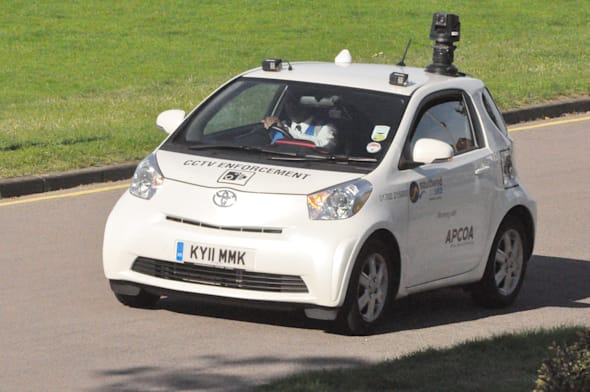 CCTV parking enforcement vehicle
