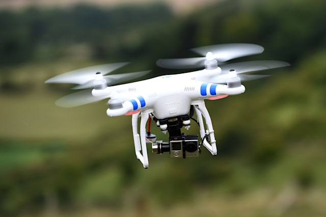 Drone nearly hits passenger plane over London